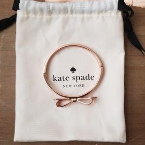 Kate spade rose gold bracelet